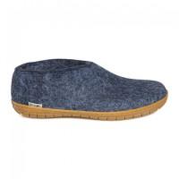 Glerups schoen met rubber zool - Denim