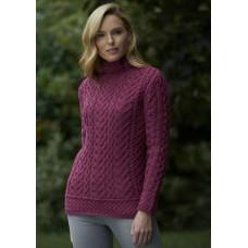 West End Knitwear - trui met hoge boord