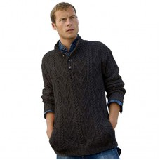 West End Knitwear - herentrui met kraag en knopen