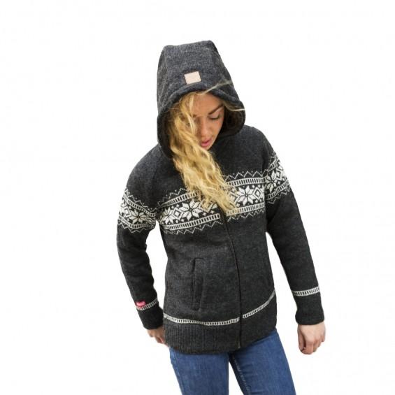 FuzaWool Edna hood jacket WP