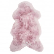 Texelana geverfde schapenvacht baby roze