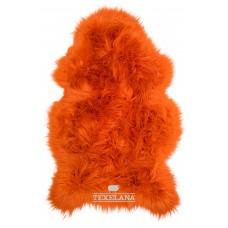 Texelana geverfde schapenvacht oranje