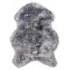 IJslander schapenvacht naturel grijs/geschoren