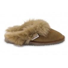 Pantoffel/slipper van schapenvacht | Model Reina