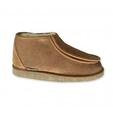Texelana - Sarah   hoge pantoffel met klittenband