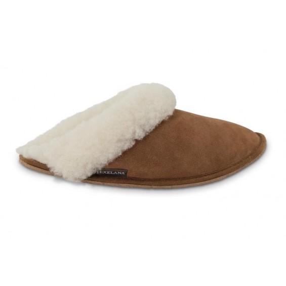 Pantoffel/slipper van schapenvacht | Model Tosca